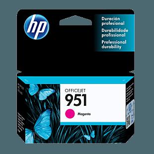 Cartucho de Tinta HP 951 Magenta Original