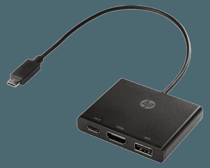 Concentrador HP USB-C a Multipuerto