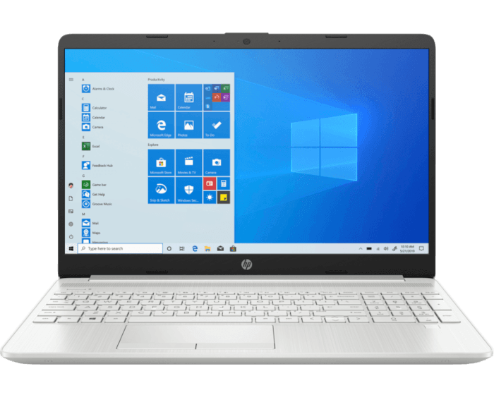 Notebook HP 15-dw1051la