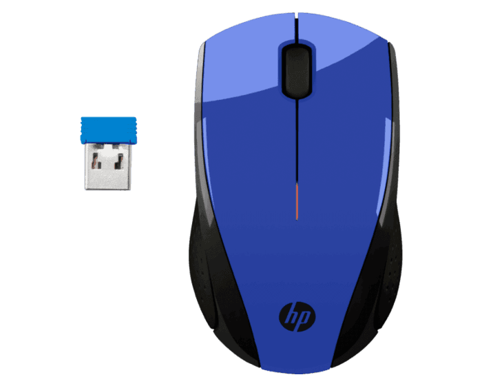 Mouse Inalámbrico HP X3000 Azul