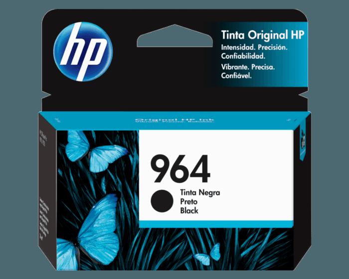 Cartucho original de tinta HP 964 negro