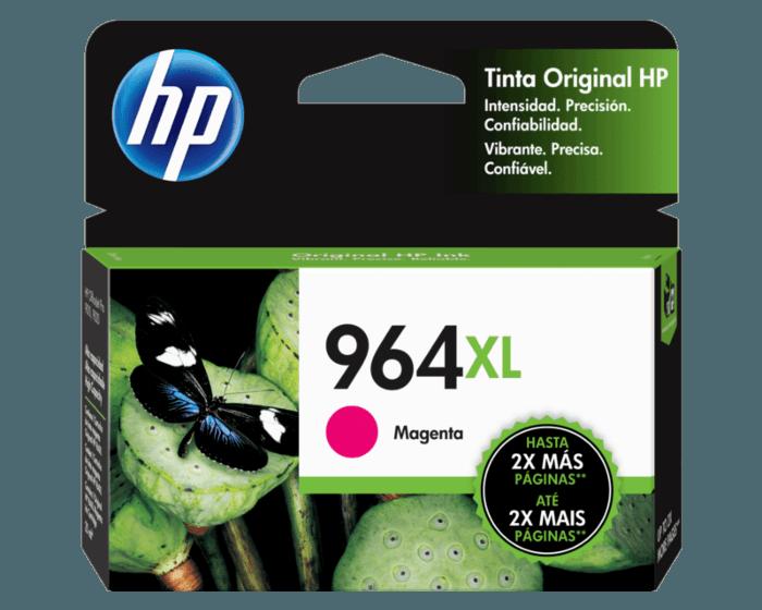 Cartucho original de tinta de alto rendimiento HP 964XL magenta