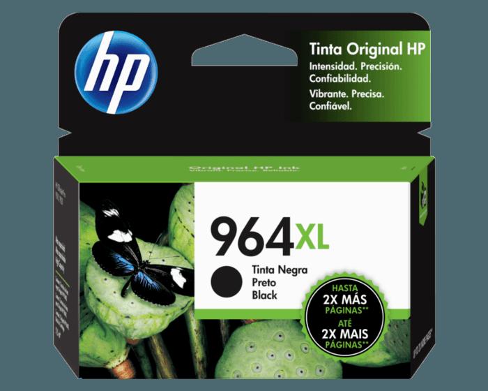 Cartucho de Tinta HP 964XL Negro de Alto Rendimiento Original