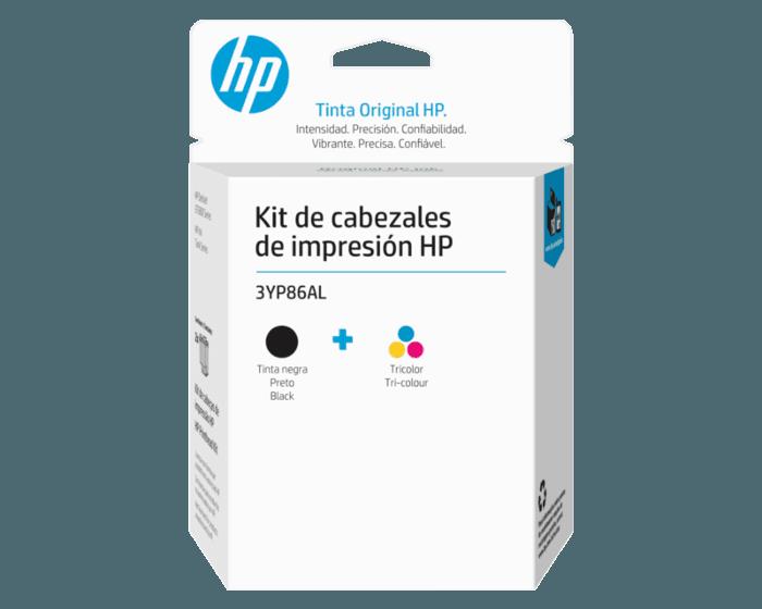 Kit de Cabezales de Impresión HP GT Negro/Tricolor