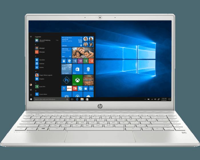 Notebook HP Pavilion 13-an0007la