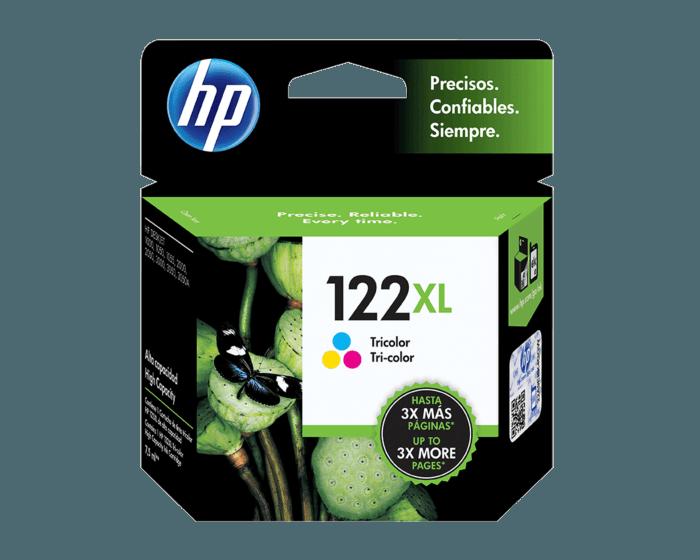 Cartucho de Tinta HP 122XL Tricolor Original