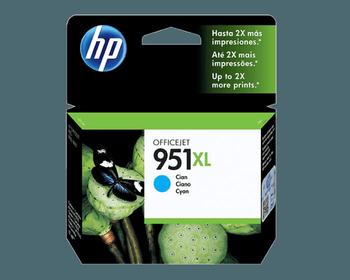 Cartucho de Tinta HP 951XL Cian Original