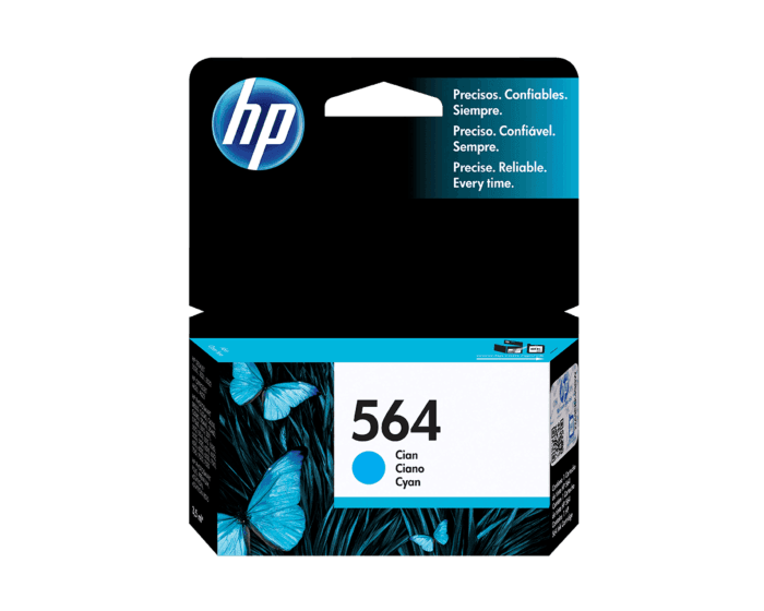 Cartucho de Tinta HP 564 Cian Original