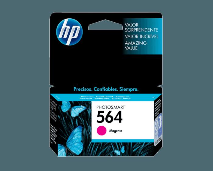 Cartucho de Tinta HP 564 Magenta Original