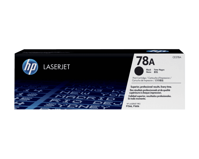 Cartucho de Tóner HP 78A Negro LaserJet Original
