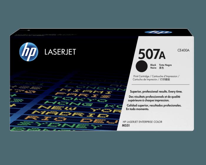 Cartucho de Tóner HP 507A Negro LaserJet Original