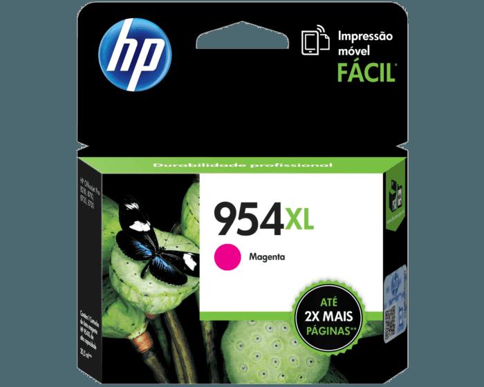 Cartucho de Tinta HP 954XL Magenta Original