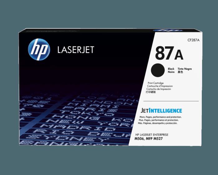 Cartucho de Tóner HP 87A Negro LaserJet Original