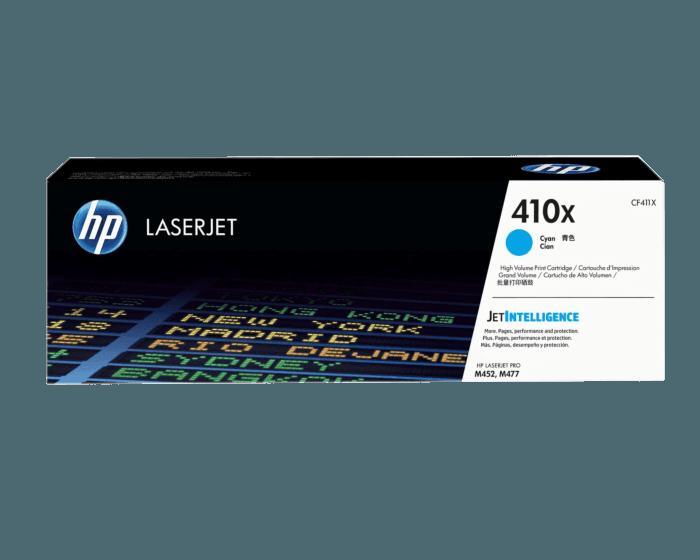 Cartucho de Tóner HP 410X Cian Alto Rendimiento LaserJet Original