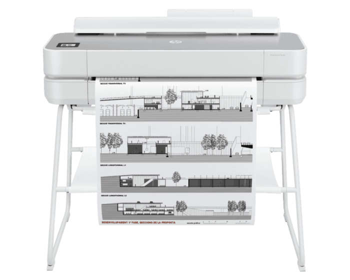 Impresora HP DesignJet Studio Steel de 24