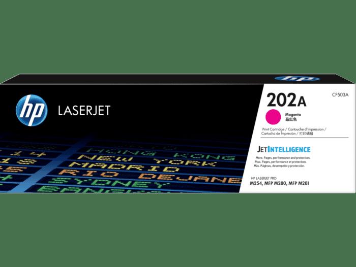 Cartucho de Tóner HP 202A Magenta LaserJet Original
