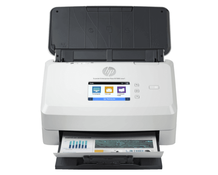Escáner HP ScanJet Enterprise Flow N7000 snw1