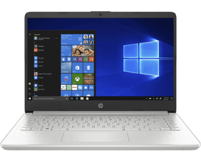 Notebook HP 14-dq1005la
