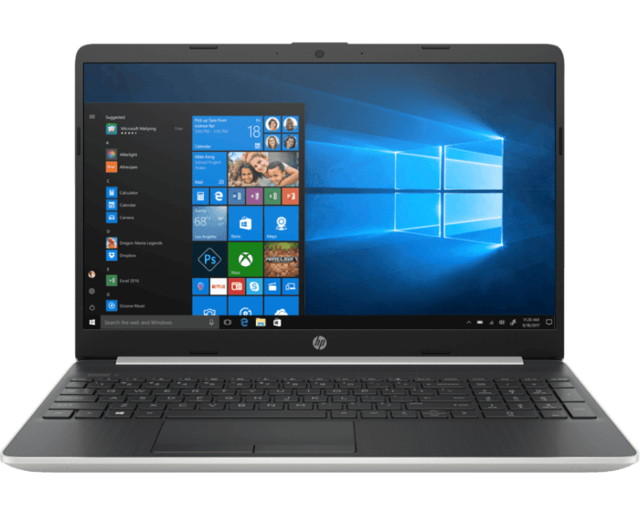 Notebook HP - 15-dw1010la