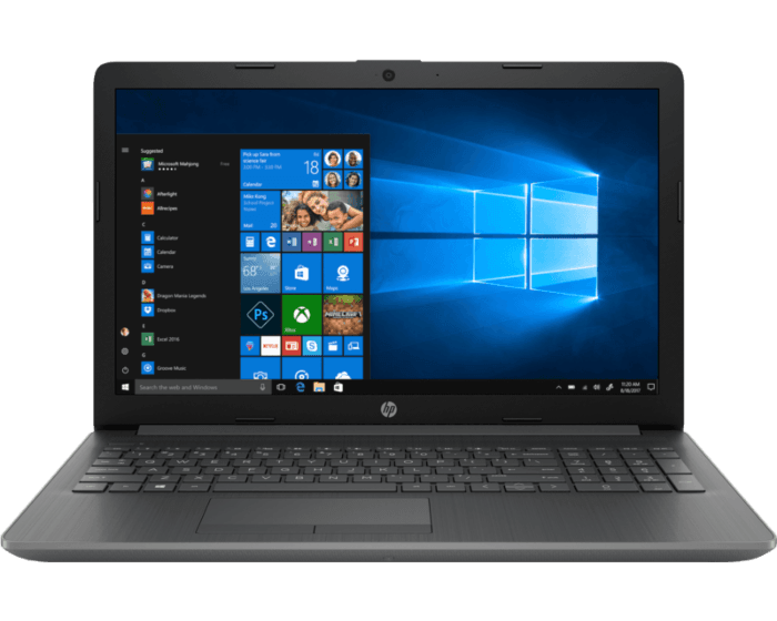 Notebook HP 15-da0083la
