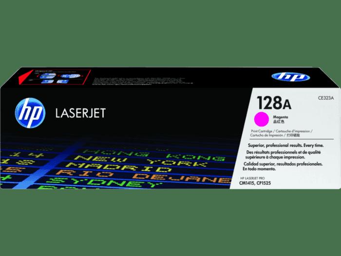 Cartucho de Tóner HP 128A Magenta LaserJet Original