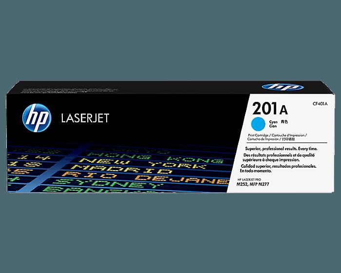 Cartucho de Tóner HP 201A Cian LaserJet Original