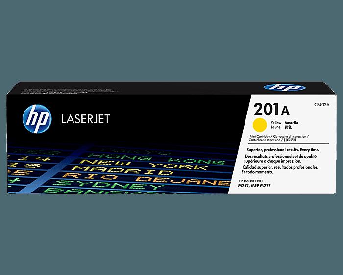 Cartucho de Tóner HP 201A Amarillo LaserJet Original
