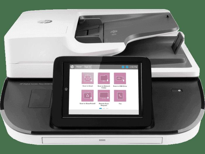 Escáner HP Digital Sender Flow 8500 fn2
