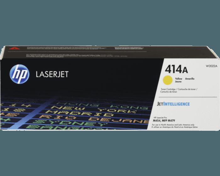 Cartucho de Tóner HP 414A LaserJet Amarillo Original
