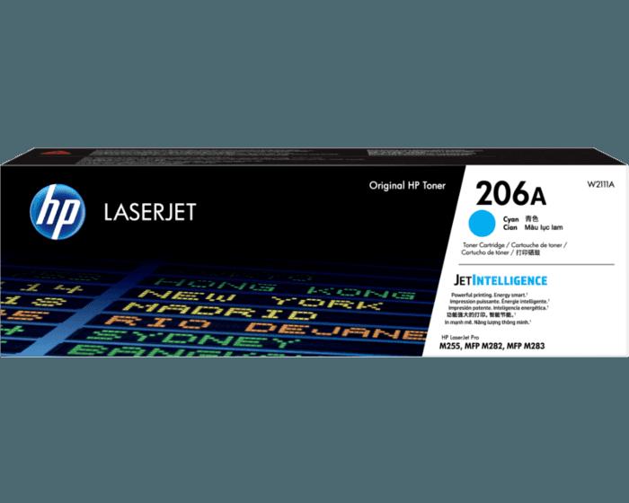 Cartucho de Tóner HP 206A Cian LaserJet Original