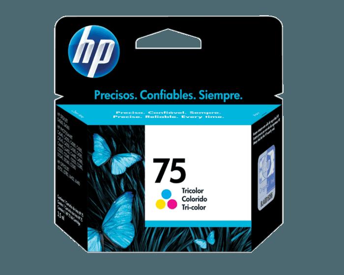 Cartucho de Tinta HP 75 Tricolor Original