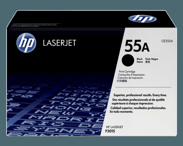 Cartucho original de tóner negro HP 55A LaserJet