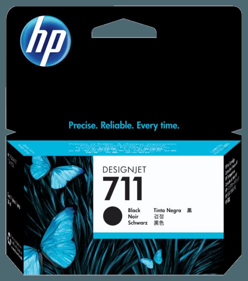 Cartucho de Tinta HP 711 Negro DesignJet de 38 ml