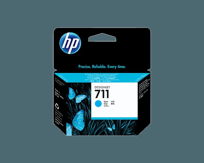Cartucho de Tinta HP 711 Cian DesignJet de 29 ml