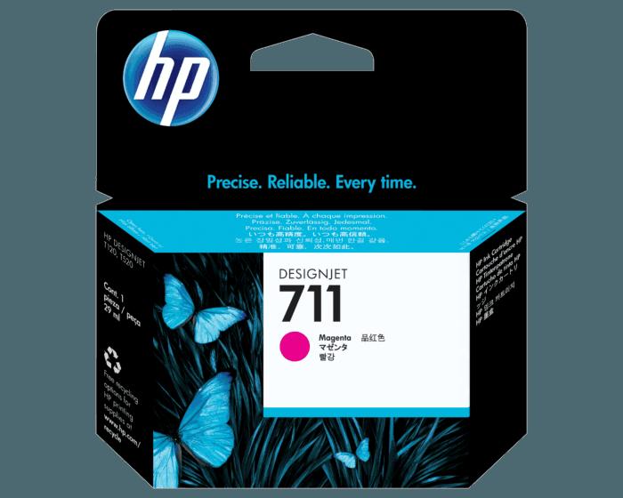Cartucho de Tinta HP 711 Magenta DesignJet de 29 ml