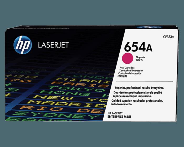 Cartucho de Tóner HP 654A Magenta LaserJet Original