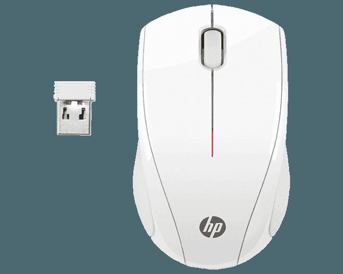 Mouse Inalámbrico HP X3000 Blanco