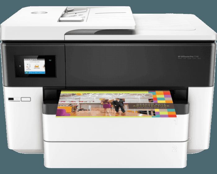 Impresora Multifuncional HP OfficeJet 7740 Wide Format
