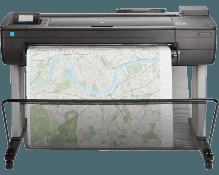"Impresora HP DesignJet T730 de 36"""