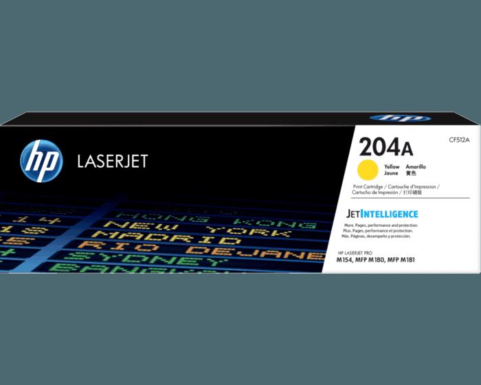 Cartucho de Tóner HP 204A Amarillo LaserJet Original
