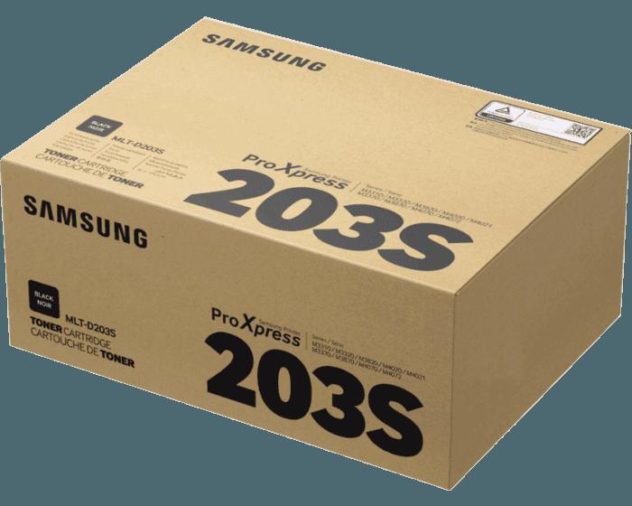 Cartucho de tóner Samsung MLT-D203S negro