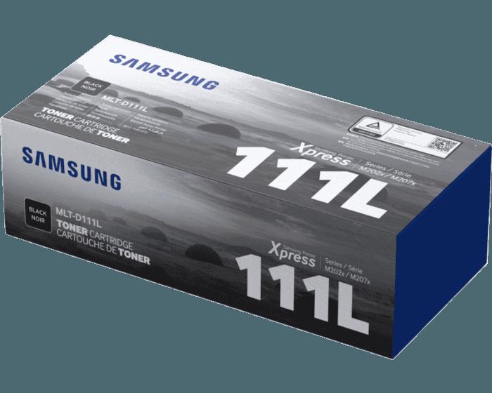Cartucho de Tóner Samsung MLT-D111L Negro de Alta Capacidad Original