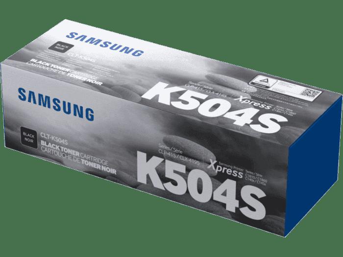 Cartucho de Tóner Samsung CLT-K504S Negro