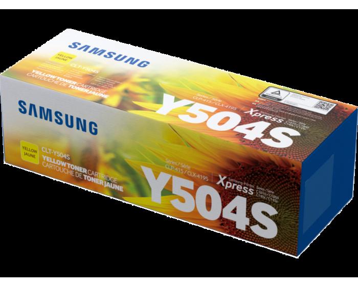 Cartucho de Tóner Samsung CLT-Y504S Amarillo