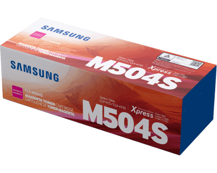 Cartucho de Tóner Samsung CLT-M504S Magenta