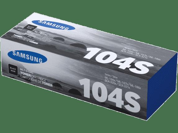 Cartucho de Tóner Samsung MLT-D104S Negro Original