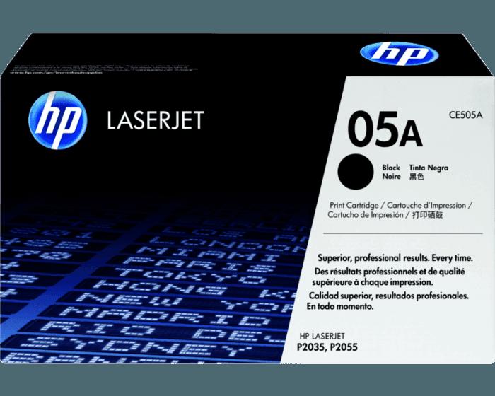 Cartucho de Tóner HP 05A Negro LaserJet Original
