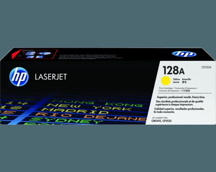Cartucho de Tóner HP 128A Amarillo LaserJet Original