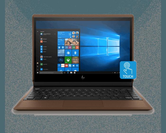 Notebook HP Spectre Folio 13-ak0001la