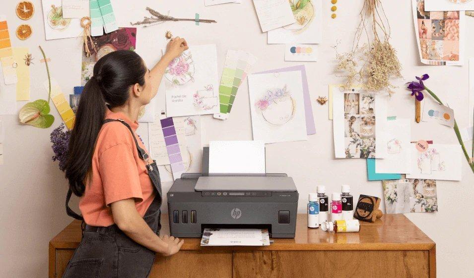 La mejor calidad de impresión con HP Smart Tank